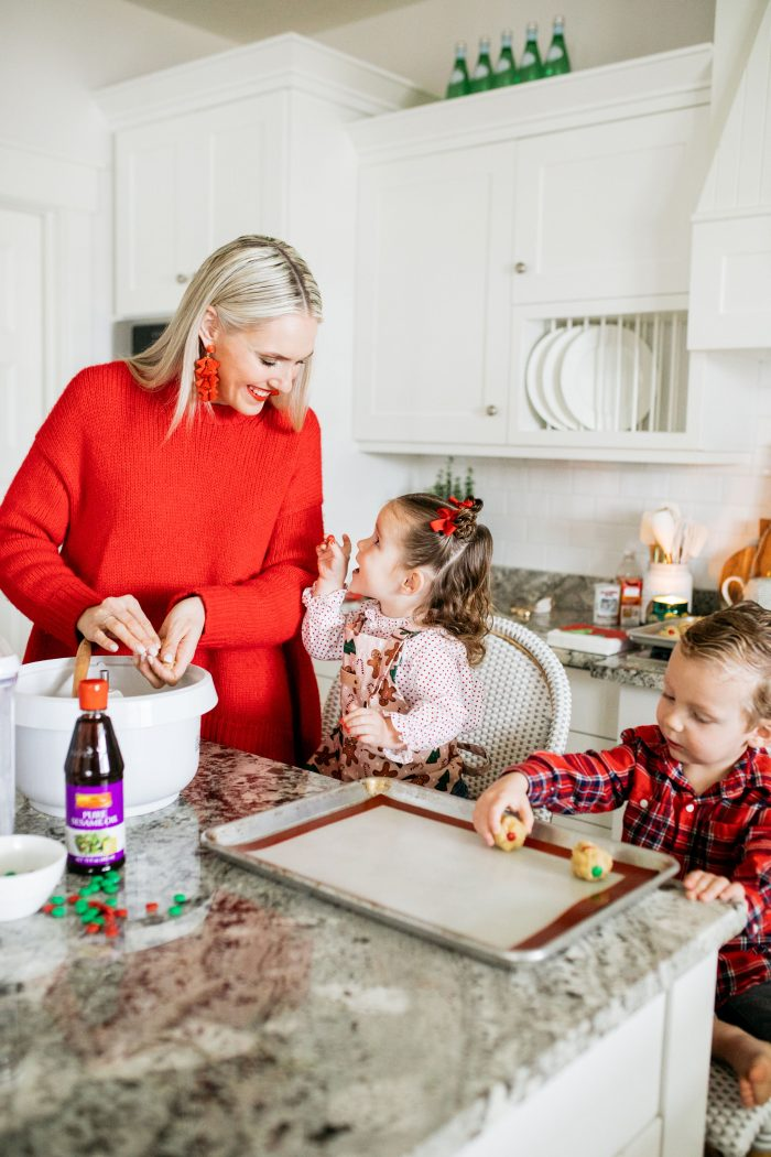 Lee Kum Kee | Savory Sweet Sesame Oil Holiday Cookies Recipe featured by top Utah life and style blog A Slice of Style