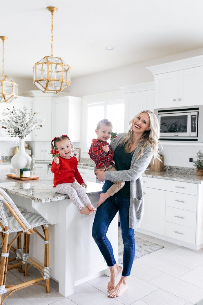 Michael's | Modern Christmas Kitchen Decor with a Vintage Feel featured by top Utah lifestyle blog A Slice of Style
