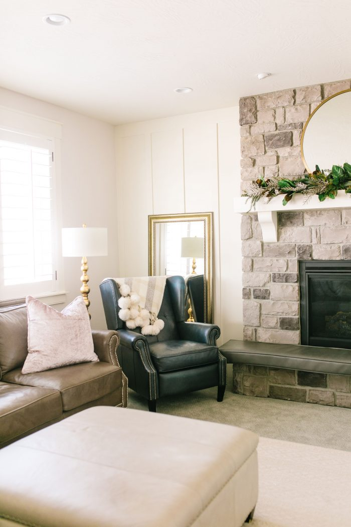 Cozy Living Room Decorating Ideas with Home Depot featured by top US life and style blog, A Slice of Style: after