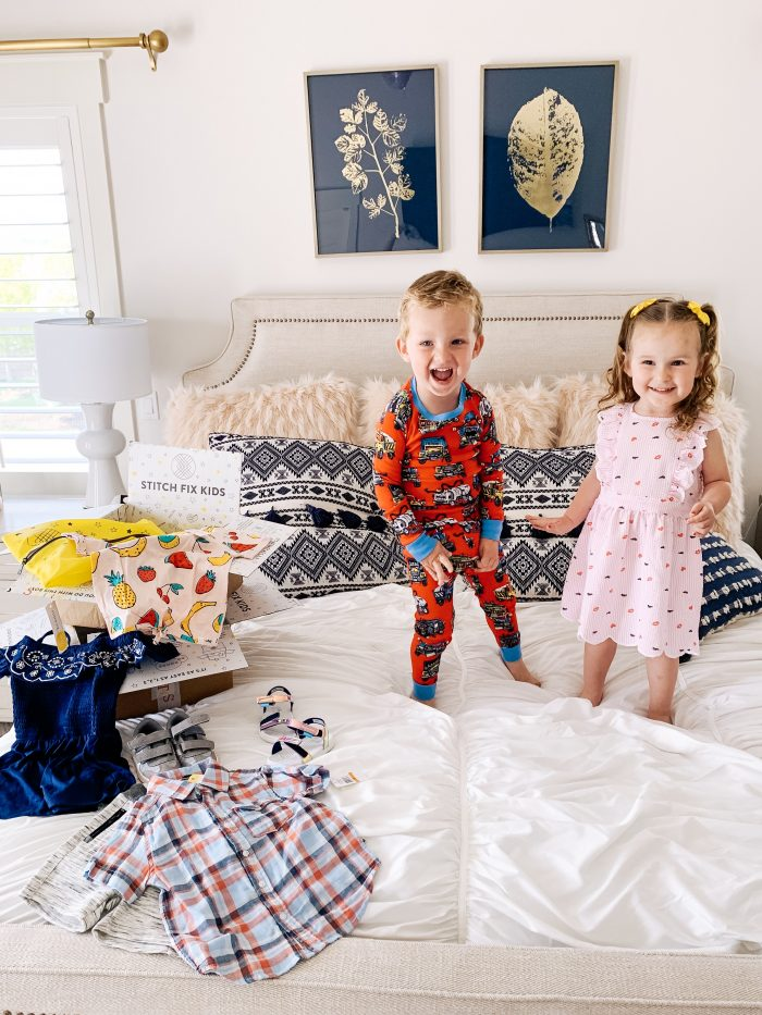 Stitch Fix Kids featured by top US fashion blog A Slice of Style