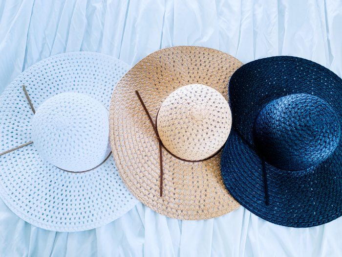 Affordable Walmart fashion favorites featured by top US fashion blog, A Slice of Style: image of Time and Tru sunhats available at Walmart