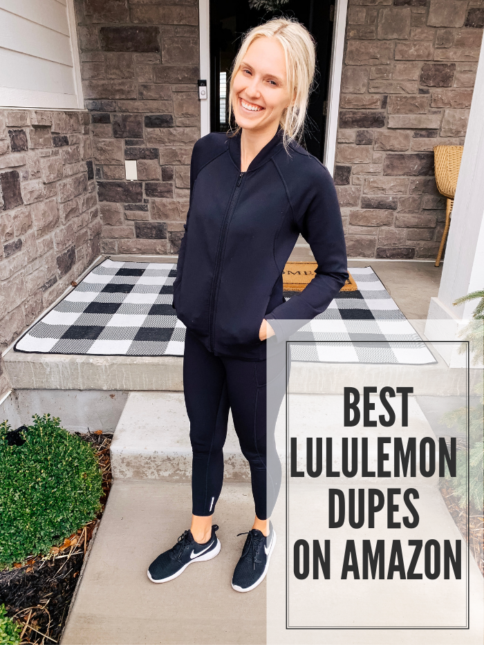 92bfe0224c Best Lululemon Dupes on Amazon! | A Slice of Style