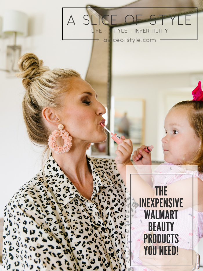 Walmart Beauty Essentials featured by top US beauty blog, A Slice of Style