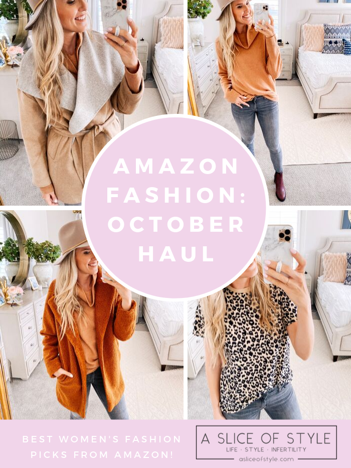 Amazon Fall Fashion Favorites featured by top US life and style blog, A Slice of Style