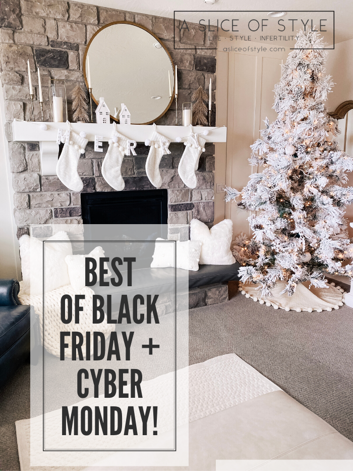 The Best Black Friday and Cyber Monday Sales featured by top US life and style blog, A Slice of Style