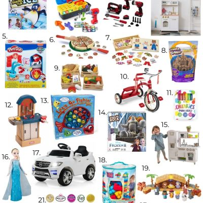 Holiday Gift Guide: Best Toys for 3 Year Olds from Walmart