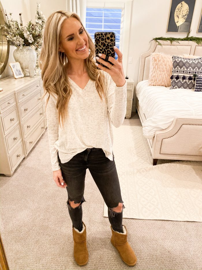 Winter Essentials from Walmart Fashion featured by top US fashion blog, A Slice of Style