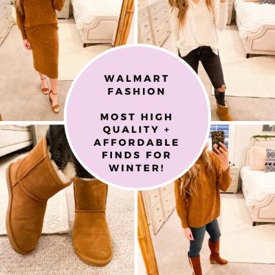 Winter Essentials from Walmart Fashion!