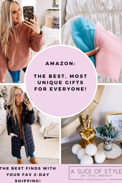 The Best Amazon Gifts for ANYONE featured by top US life and style blog, A Slice of Style.
