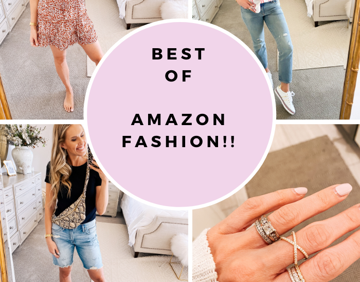 Amazon Fashion Haul, favorites featured by top Utah mom fashion blog, A Slice of Style.
