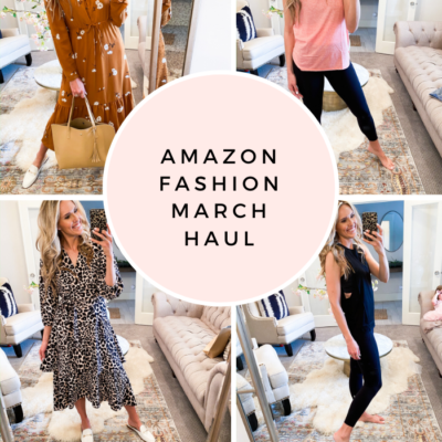 Amazon Fashion Haul for March