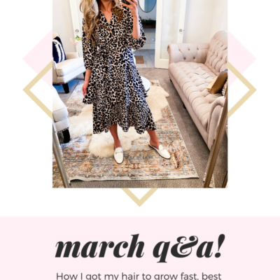 Meet the Blogger Questions: March Q&A!