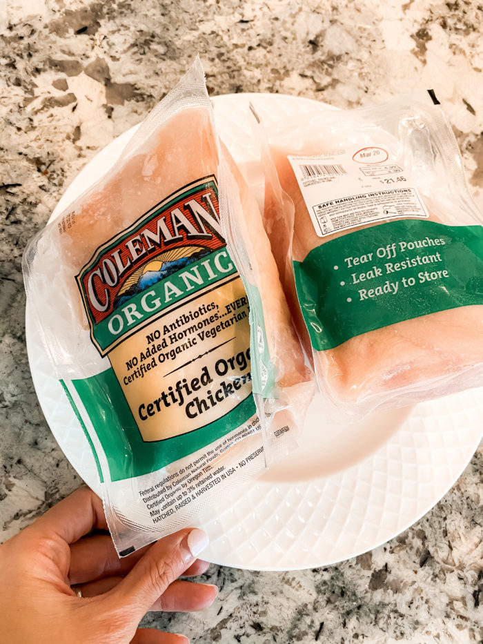 instant pot chicken | Instant Pot Chicken by popular Utah lifestyle blog, A Slice of Style: image of Coleman organic chicken.