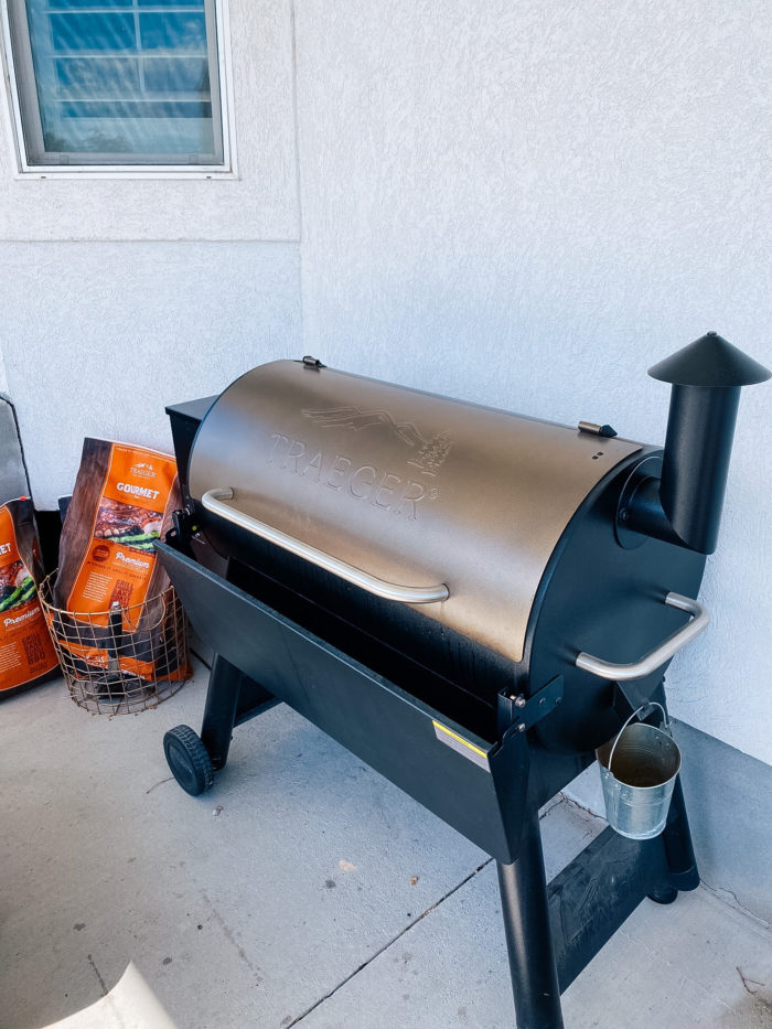 Best Kitchen Tools by popular Utah lifestyle blog, A Slice of Style: image of a Traeger grill.