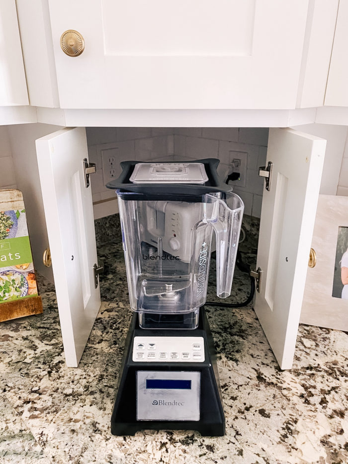 Best Kitchen Tools by popular Utah lifestyle blog, A Slice of Style: image of a Blendtec blender.