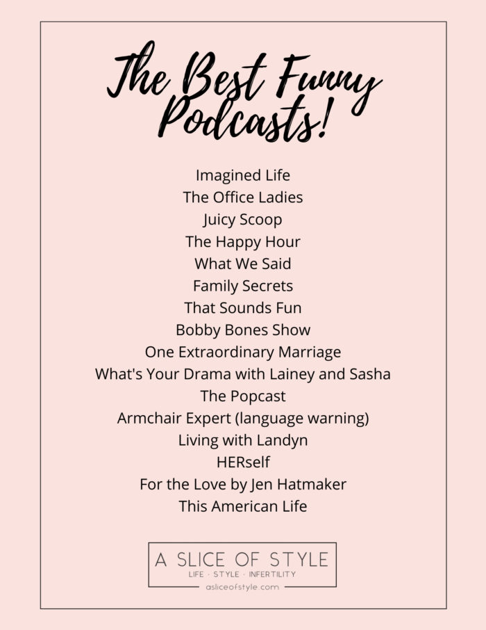 funny podcasts