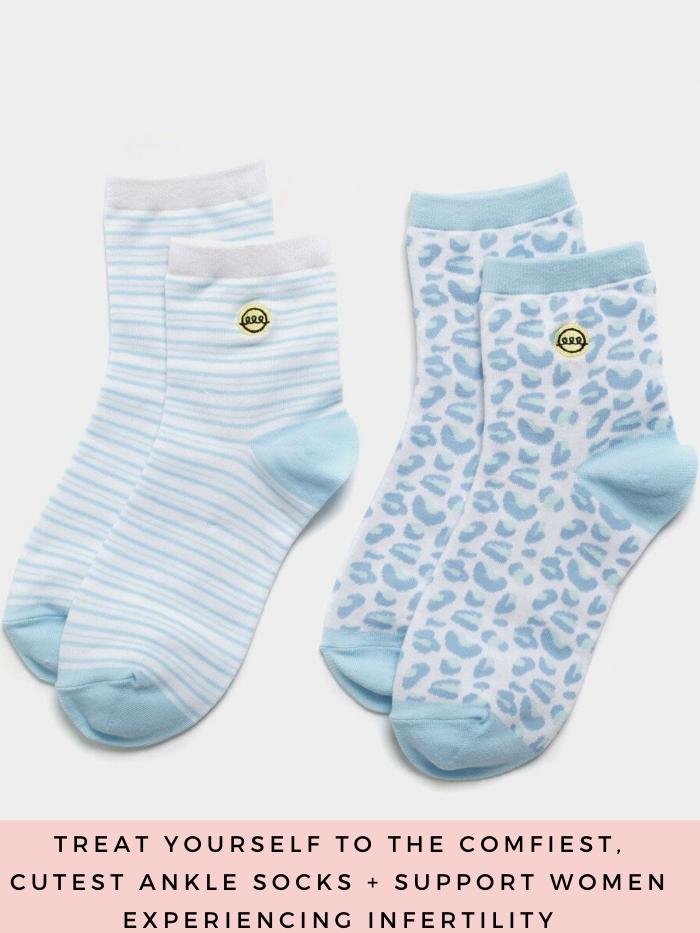 The Slice of Sun by popular Utah fashion blog, A Slice of Style: image of The Slice of Sun ankle socks.