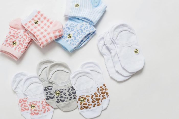 The Slice of Sun by popular Utah fashion blog, A Slice of Style: image of The Slice of Sun socks.