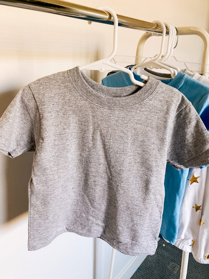 Back to School Fashion with Walmart featured by top Utah lifestyle blogger, A Slice of Style. | Walmart Back to School by popular Utah lifestyle blog, A Slice of Style: image of Walmart Baby Toddler Short Sleeve Tee.