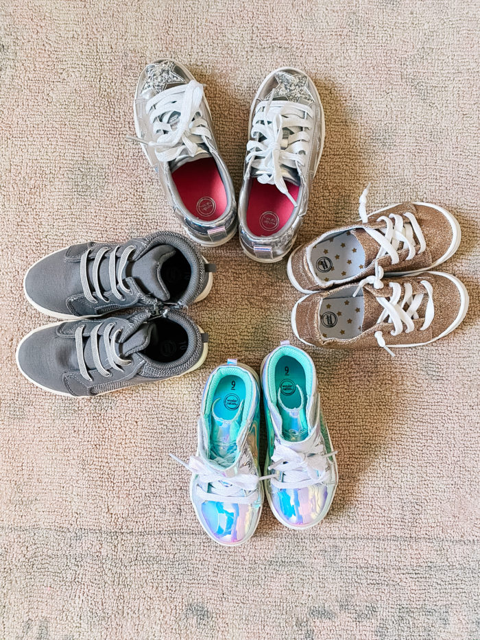 Back to School Fashion with Walmart featured by top Utah lifestyle blogger, A Slice of Style. | Walmart Back to School by popular Utah lifestyle blog, A Slice of Style: image of Walmart Wonder Nation sneakers.