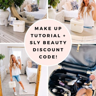 10 Minute Make Up Tutorial for Busy Moms + Sly Beauty Discount Code!