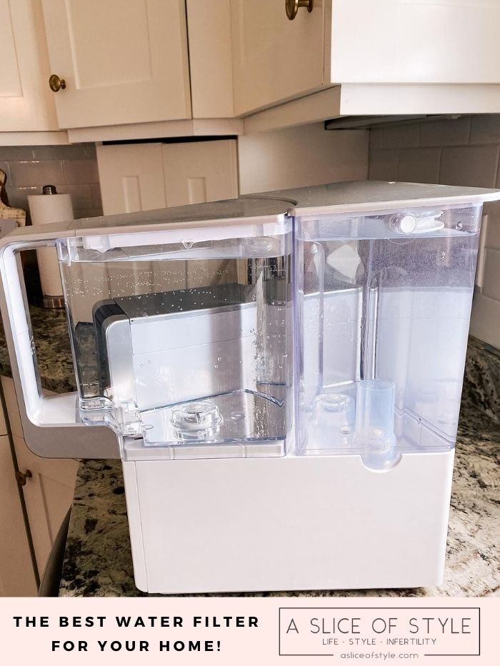 best water purifier | Branch Basics Reviews by popular Utah lifestyle blog, A Slice of Style: image of a Aqua Tru water filter.