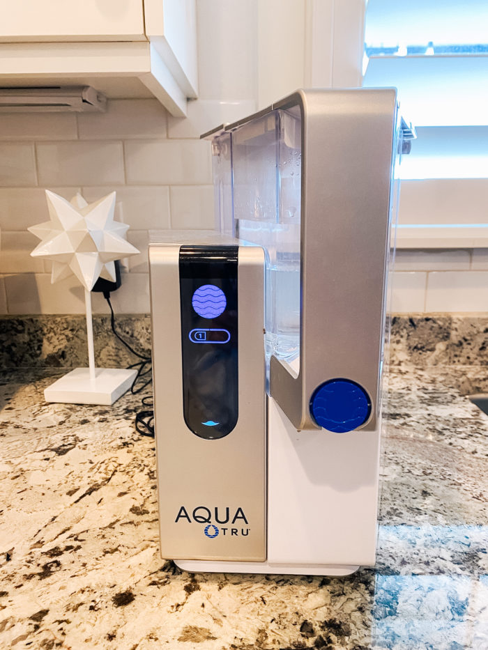 AquaTru Discount Code | Epstein-Barr Virus by popular Utah lifestyle blog, A Slice of Style: image of a Aqua Tru.