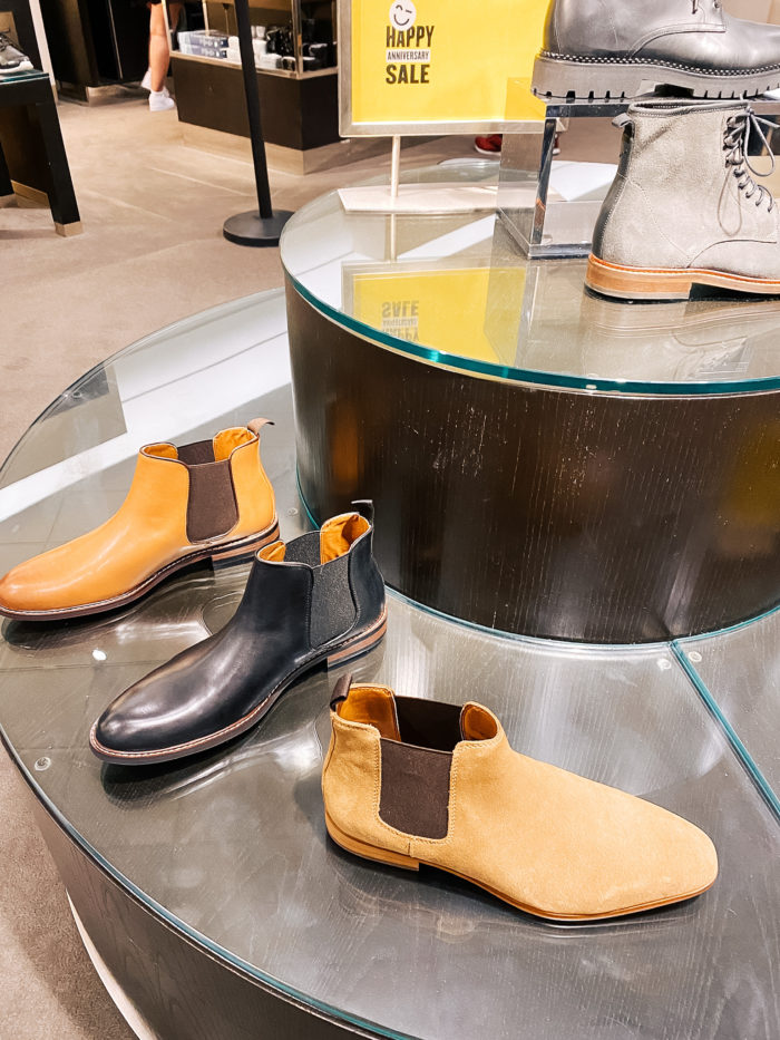 Nordstrom Anniversary Sale by popular Utah fashion blog, A Slice of Style: image of three pairs of Nordstrom Kit Chelsea Boot KORK-EASE®.