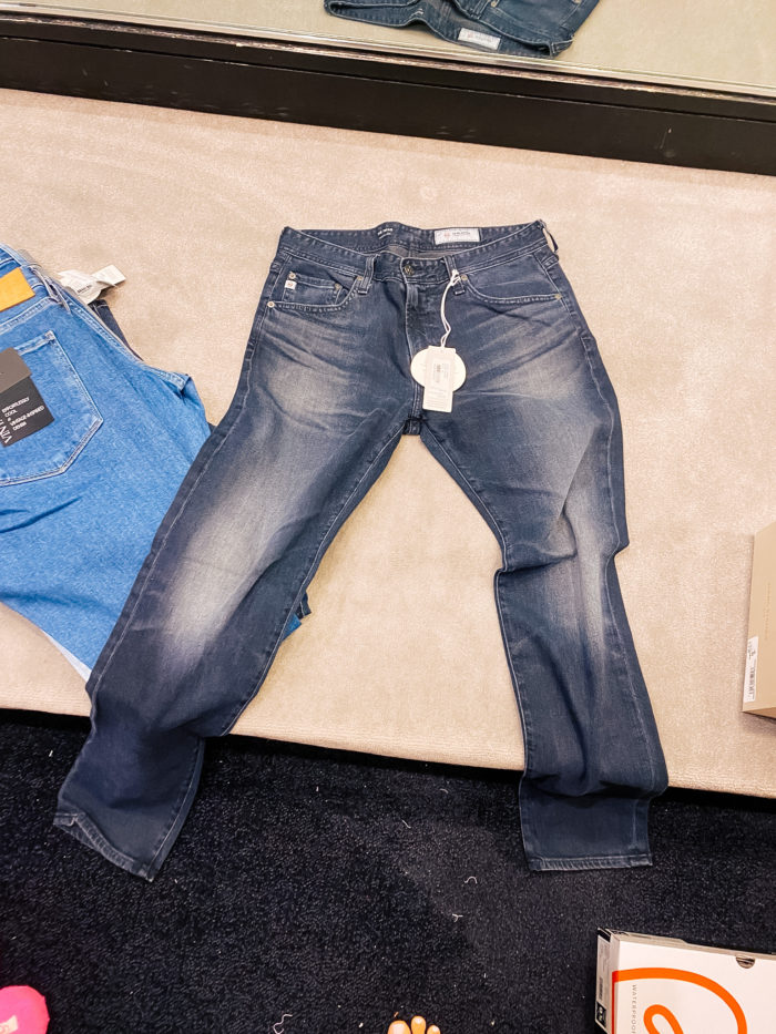 Nordstrom Anniversary Sale by popular Utah fashion blog, A Slice of Style: image of a pair of AG jeans.