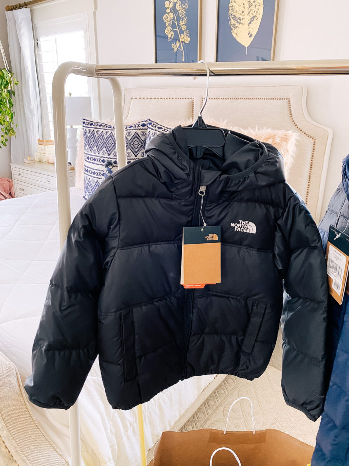 Nordstrom Anniversary Sale by popular Utah fashion blog, A Slice of Style : image of a Nordstrom Mossbud Swirl Reversible Water Repellent Heatseeker™ Jacket THE NORTH FACE