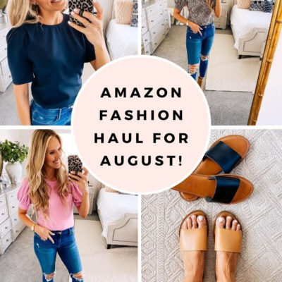 Amazon Fashion Haul for August: The Cutest Tops for Summer!