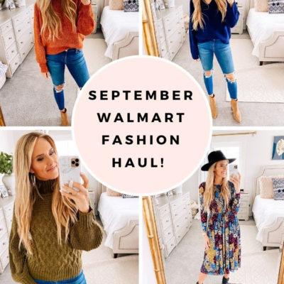 September Walmart Fashion Haul!