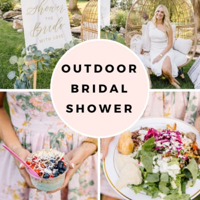 Outdoor Bridal Shower for My Sister!