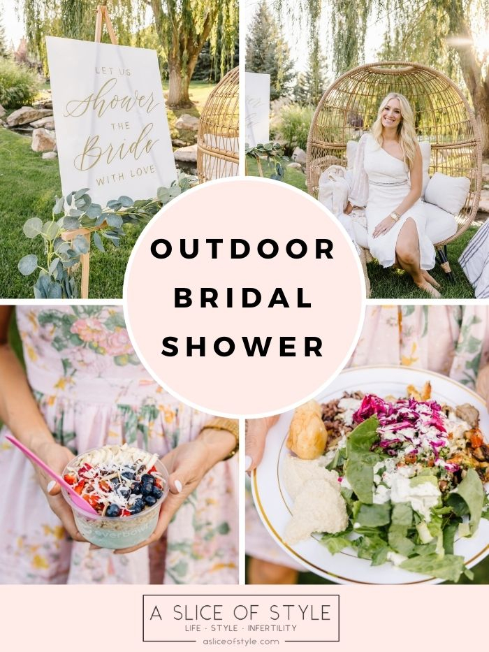 Outdoor Summer Bridal Shower!