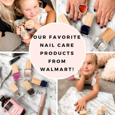 Our Favorite Natural Nail Care Products from Walmart!