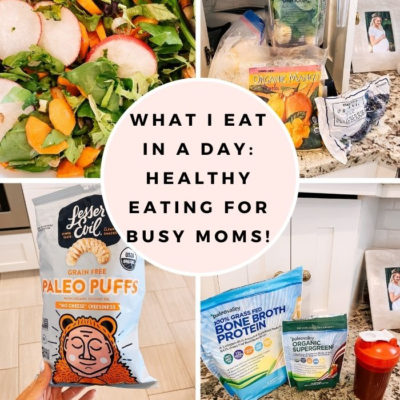 What I Eat in a Day: A 24 Hour Food Diary from a Busy Mom