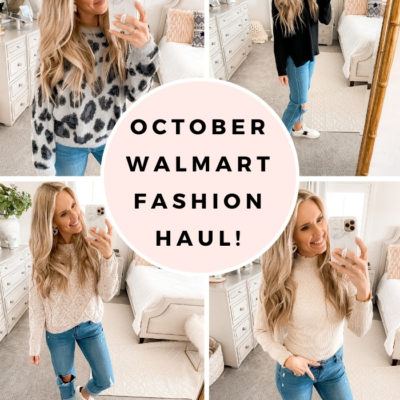 October Walmart Fashion Haul: Comfy and Affordable Sweaters!