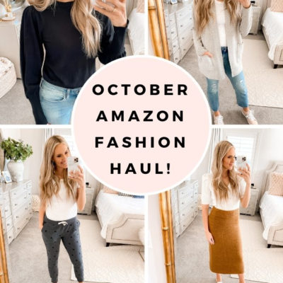 October Amazon Fashion Haul: Cute and Cozy Clothes for Colder Weather