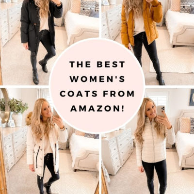 The Best Women's Coats from Amazon!