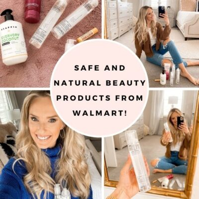 Safe and Natural Beauty Products from Walmart!