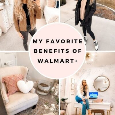 The Walmart+ Membership Benefits that Save me Hours Each Week