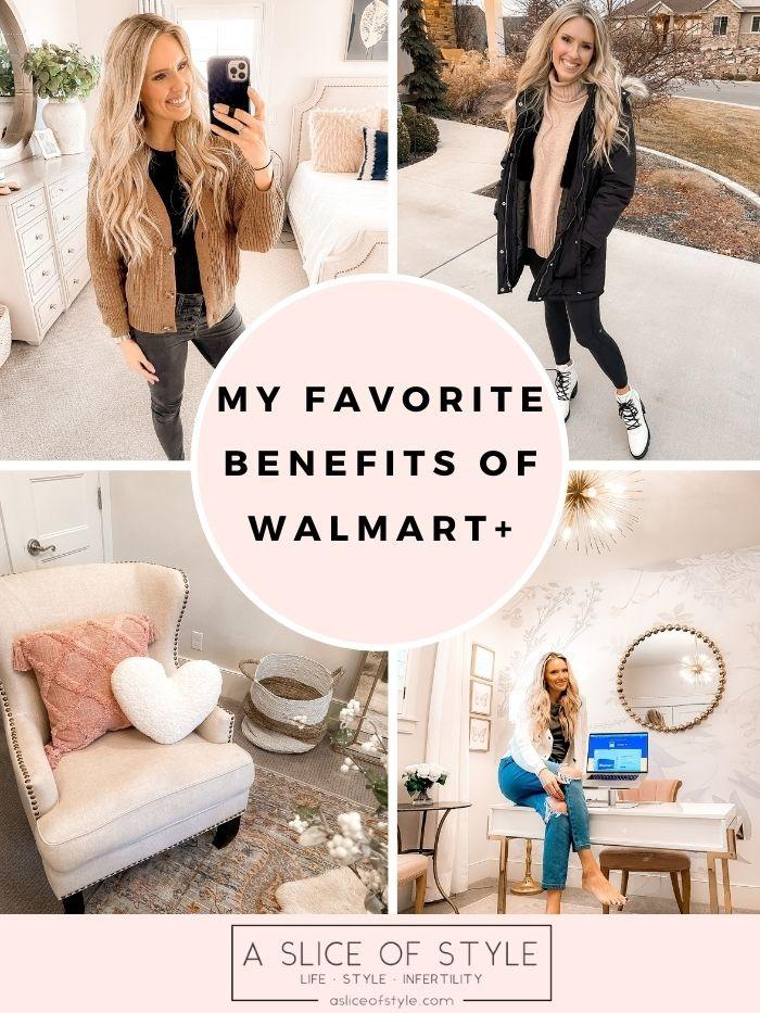 Walmart+ membership benefits