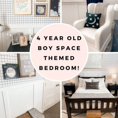 Harris' Bedroom: Space Themed Bedroom for a Toddler!