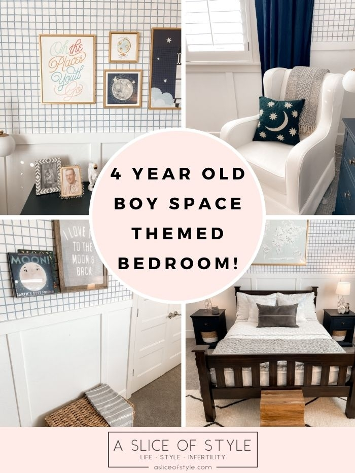 Space Themed Bedroom!