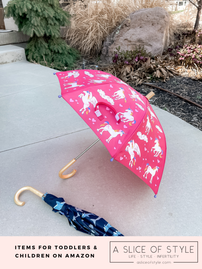 Darling umbrella's found on Amazon for Children and toddlers