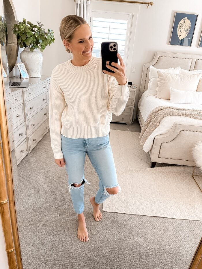 Nothing better than a gorgeous, lightweight sweater that you can dress up or dress down.