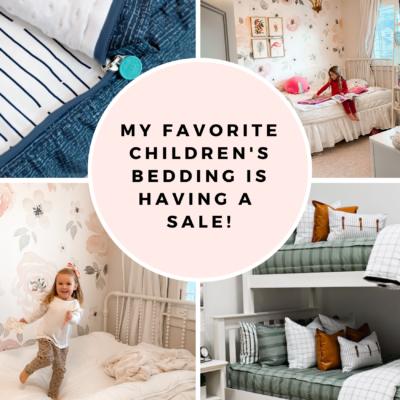 Beddy's Discount Code: My Favorite Children's Bedding is on SALE!
