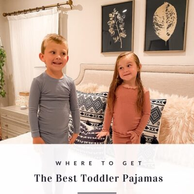 Where To Get The Best Toddler Pajamas